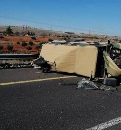Kazada 4 Askerimiz Yaralandı
