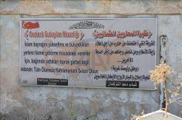 Kerkük'teki Türk Şehitliği bakıma muhtaç
