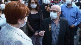 Kıbrıs Gazisi Akşener'e Biz Kıbrıs Gazileri Hakikaten sürünüyoruz dedi