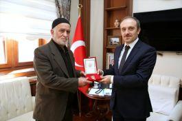 Kıbrıs Gazisine, Milli Mücadele Madalyası ve Beratı verildi