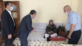 Kıbrıs şehitlerinin aileleri ziyaret edildi