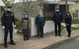 Kırklareli'nde şehit babasından Dayanışma Kampanyası'na destek