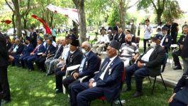 Cumhurbaşkanı Tatar Diyarbakır'da Kıbrıs Gazileri ile bir araya geldi