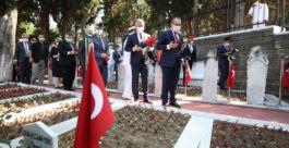 Kocaeli'de Kurban Bayramında Şehitlik ziyaret edildi