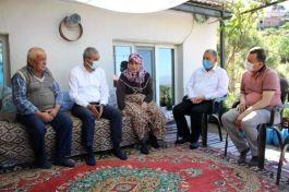 Koçarlı Belediye Başkanı'ndan Şehit ailesine bayram ziyareti