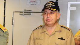 Komutan İstifa etti, Gece yarısı görevden alınmıştı