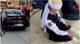 Komutan Sarıklı, cübbeli Tarikat evine Resmi araçla gitti iddiası