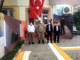 Komutan Şehit aileleri ve Gazilerle bir araya geldi