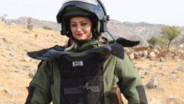 Komutan Şehit Kadın Askerin Ailesine Ziyaret etti