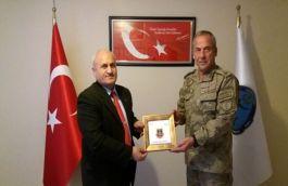 Komutan TSK Mehmetçik Vakfı'nı ziyaret etti