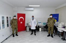 Kosova'daki Türk Askerlerinden sağlık alanına destek