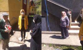 Kozlu ilçesinde Şehit Aileleri ziyaret edildi