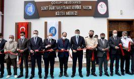 Kültür merkezi Şehidin Şehadetinin 4'üncü yılında hizmete açıldı