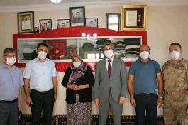 Kuluncak Belediye Başkanı Şehit yakınlarını ziyaret etti