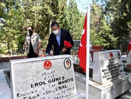 Kurban Bayramı'nda Şehit ve yakınları unutulmadı