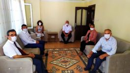 Kuşadası'nda Şehit aileleri ve Gazilere bayram ziyareti
