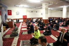 Kütahya'da Şehitler için hatim programı düzenlendi