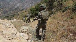 Kuzey Irakta 5 terörist öldürüldü