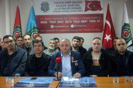 Maaşı Kesilen Gaziler Açıklaması(İstanbul Anadolu yakası Şube)
