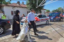 Makam aracı Şehit oğlunun Sünnet arabası oldu