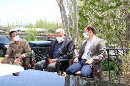 Malazgirt Kaymakamı Şehit ailelerini ziyaret etti