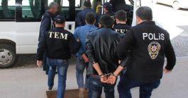 Manisa'da Pkk ya yönelik operasyonda 3 terörist tutuklandı