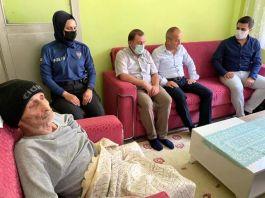 Kaymakam'dan Şehit ailelerine ziyaret