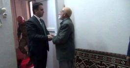 Mardin Midyat Kaymakam'ından Şehit ailesine ziyaret
