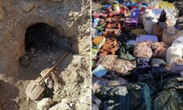 Mardin'de 8 sığınak ve depo kullanılamaz hale getirildi