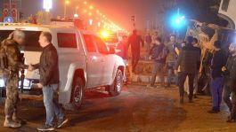 Mardin'de kaza iki Polis Yaralandı