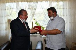 Meclis Başkanı Tekirdağ'da Şehit Ailesini ziyaret etti