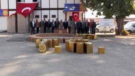 Mehmetçiğe 1 ton 600 kilogram bal