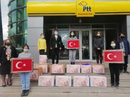 Mehmetçiğe Öğrencilerden 10 bin mektup