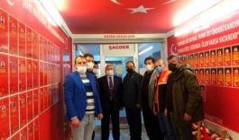 Mehmetçik Vakfı heyetinden ŞAGDER'e ziyaret