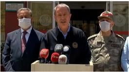 Mersin'de Askerlerimiz neden Şehit oldu Bakan Açıkladı