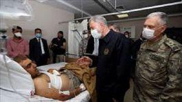 Mersin'de Kazada yaralanan 6 askerin tedavisi sürüyor