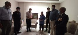 Mersin'de Şehit Ailesine şehadet belgesi verildi