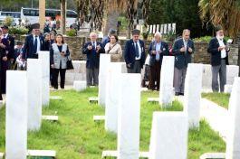Mersin'li Gaziler Kıbrıs'a gitti