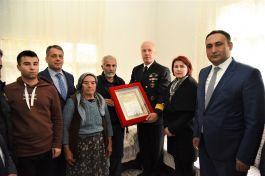 Mersin'li Şehit ailelerine 'şehadet belge' leri verildi