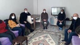 Milletvekili teröristin ailesini ziyaret etti