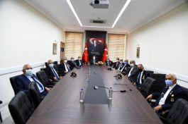 Muharip Gazilerden Vali Orhan Tavlı'ya Ziyaret