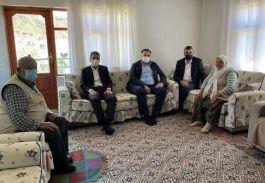Nallıhan'da Şehit aileleri ziyaret edildi