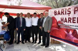 Nazilli Belediyesi'nden Mehmetçik için lokma hayrı