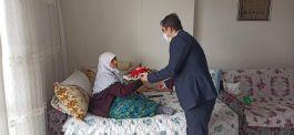 Nurdağı Kaymakamı Şehit ailelerini ziyaret etti