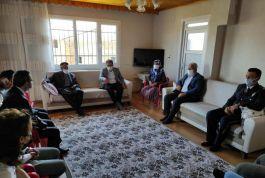 Nurdağı'nda Şehit aileleri ve Gazilere bayram ziyareti