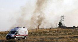 Nusaybin'de 4 farklı noktaya havanlı saldırı: 1 asker hafif yaralı