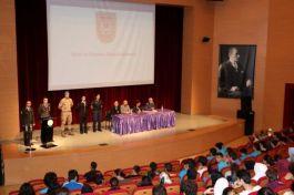 Öğrencilere 'Şehitlik ve Gazilik' konferansı