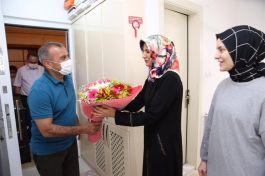 Ordu Valisi ilk önce Şehit Ailelerini ziyaret etti