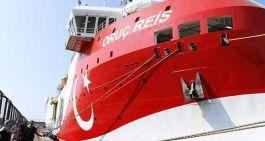 Oruç Reis gemimiz Akdenizden geri çekildi