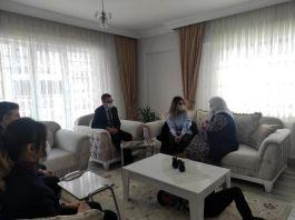 Osmancık'ta şehit ailelerine ziyaret